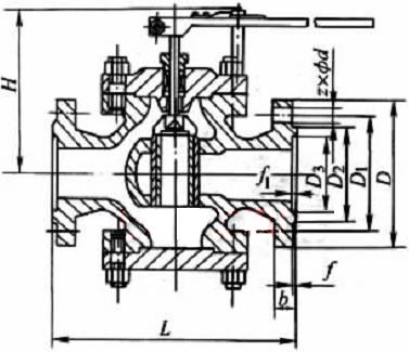 t40h 型给水回转式调节阀:适用于中,低压锅炉给水管道和高压加热器图片